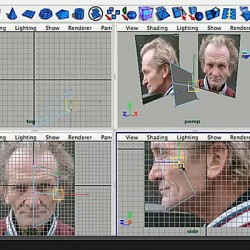 How to Model a human head with great edge flow in Maya