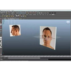Setting up image planes in Maya