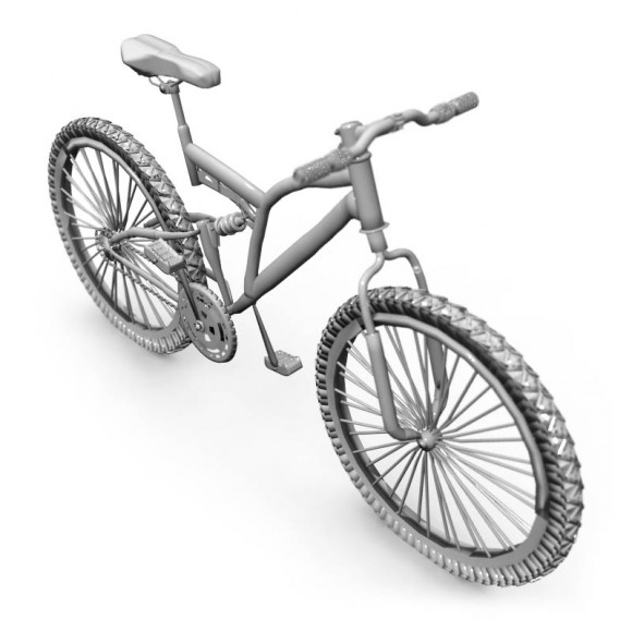 cycle low poly