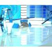 Tv Studio News Desk 012