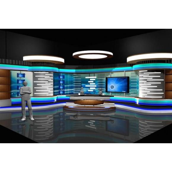 News Room Studio 002